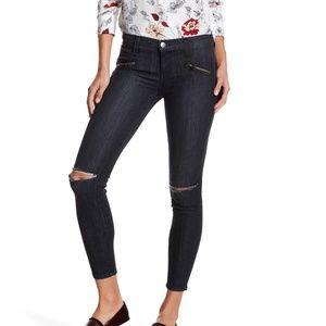 Current Elliott | Soho Stiletto Distressed Jeans